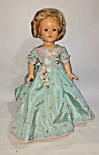 """Antique Effanbee Anne Shirley Little Lady Doll 1930's - 18"""" composition"""