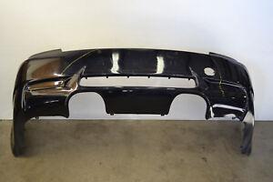 BMW E92 E93 M3 Rear Bumper Cover Panel Jerez Black Genuine E9X Oem 2008-2013