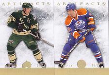 12-13 Artifacts Jordan Eberle /25 Gold SPECTRUM Oilers 2012