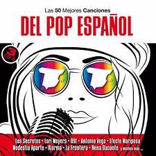 LAS 50 MEJORES CANCIONES DEL POP ESPAÑOL - 3 CD - NUEVO Y PRECINTADO - NACHA POP
