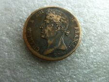 5 centimes   CHARLES X  1828 A