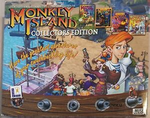 Monkey Island  / Collectors edition. – Vintage PC Game  (2001)