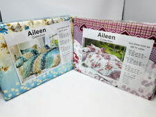 AILEEN COLLECTION Queen Duvet 4 pcs Sheet set 600 TC Cotton