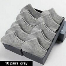 10 Pairs High quality Men Ankle Socks Summer Cotton Black White Business Leisure