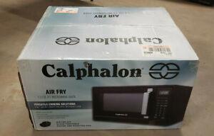 Calphalon 1.3 cu ft 1000W Air Fry Microwave Oven - Matte Black - Brand New!!!