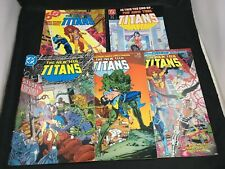 The New Teen Titans # 10, 11, 13, 14, 19 DC Comics Copper Age Mixed Lot 5 Issues