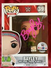 Bayley Signed WWE Wrestling Funko Pop 39 COA