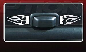 2pc Universal BullyTribal Flame Trim, Decal, Accent fits Chevrolet Truck, SUV