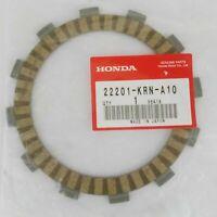HONDA CRF250R CRF 250R CLUTCH FRICTION PLATES GENUINE 22201-KRN-A10 OEM Lot of 7