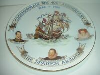 Royal Doulton Spanish Armada 400th Anniversary Plate 1988