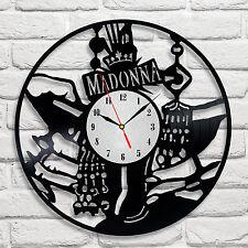 Madonna design vinyl record clock home decor playroom hobby playroom hobby art 2