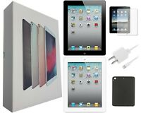 Apple iPad 2, 3, 4 | 16/32/64/128GB | Black / White WiFi/AT&T/Verizon/Sprint