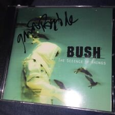 Gavin Rossdale Autograph CD Booklet BUSH The Science Of Things Signed