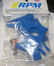 RPM 81065 TMAXX  EMAXX FRONT BLUE BULKHEADS FITS ALL VERSIONS  NEW NIP