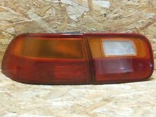 91 95 JDM HONDA CIVIC FERIO EG8 EG4 SEDAN LEFT SIDE TAIL LIGHT SET RARE ITEM OEM