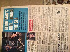 U1-9 ephemera 1968 article james launders hms venturer