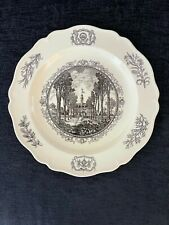 """Wedgwood 10"""" Collector's Plate: The Capitol Williamsburg, Virginia"""