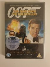 THE MAN WITH THE GOLDEN GUN DVD ULTIMATE EDITION  SEALED JAMES BOND 007
