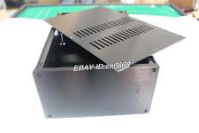 JC2212 black full Aluminum Preamplifier enclosure/amplifier chassis AMP BOX
