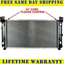 "Radiator For 1999-2009 2011-2014 Chevy P/U 1500 2500 Hd V6 V8 34"" Core (Fits: Hummer)"