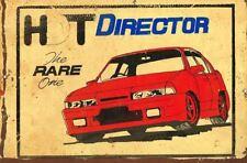 HDT Director metal sign 20 x 30 cm free postage