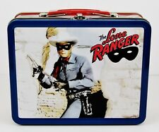 Rare Vintage - The Lone Ranger TV Series Small Metal Lunchbox / Tote (1998)