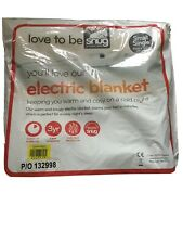 Snug Electric Blanket Heated Love To Be Snug Small 61cmx122cm