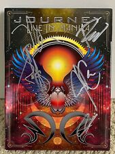 Journey Live in Manila Full 5 Member Band Signed Autographed Video Album CD Set