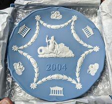 Wedgwood Plate Jasperware 2004 Annual Plate Neptune W/Original Box
