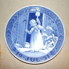 Royal Copenhagen 1951 Christmas Plate Christmas Angel