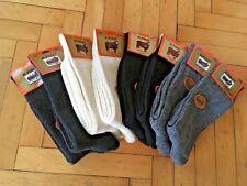 Pure Merino Wool Black / Cream/ Grey/ Dark Grey Men Winter Socks - 8 Pairs Pack