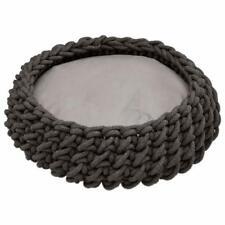 HUNTER Dog Basket Bed Braided Linz 50x50 cm Anthracite - £220