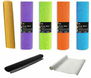 Anti Non Slip Multi Purpose Dish Drawer Mat  Rubber Liner Carpet Rug Gripper