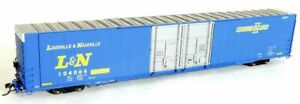Tangent 25019-04 HO Scale Greenville 86' HC BC, Louisville and Nashville #104042