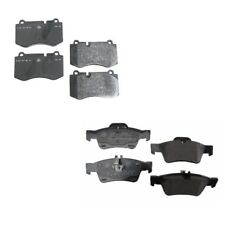 Mercedes C216 CL550 W221 S550 R230 SL Class Front & Rear Brake Pad Sets Genuine