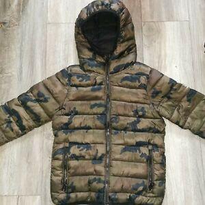 Boys Next Winter Coat  Jacket Age 8 years  Camo