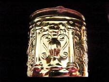 17g Sterling Silver Sewing Pin Thimble holder pill snuff box Victorian style 3cm