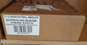 Case Panini Absolute Football Blaster 2017 Box NFL Trading Cards