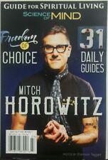 Science of Mind July 2017 Mitch Horowitz Freedom of Choice FREE SHIPPING sb