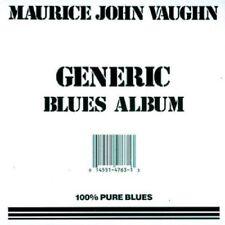 Maurice John Vaughn - Generic Blues Album [CD]