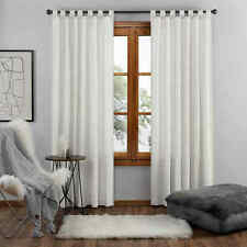 UGG Riley 63-Inch Tab Top Window Curtain Panel in Ceramic