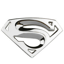 3D  Chrome Metal Superman Auto Car Motorcycle Logo Sticker Badge Emblem Decals