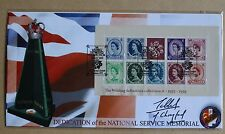 WILDINGS M/S 2003 SCOTT FDC OLD BOND STREET H/S SIGNED POLITICIAN NORMAN TEBBIT