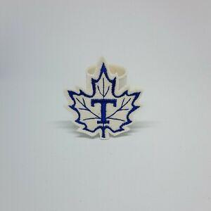Vintage Toronto Maple Leaf's Patch Badge Applique Crest Logo 2.25 X 2.5 Inches