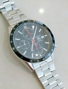 Authentic TAG Heuer Carrera Automatic Chronograph Men's Watch CV2014