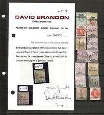 British Becuanaland, Bechuanaland Protectorate & Botswana Stamps Lot J