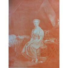 La vertu chancelante Jean Massard d'après Greuze 1799