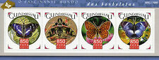 Guinea-Bissau 2015 MNH Butterflies 4v M/S Insects Purple Emperor Hawkmoth Stamps