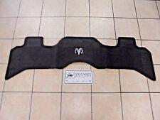 02-05 Dodge Ram 1500 2500 3500 Premium Rear Carpet Floor Mat Mopar Factory