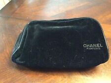 Velvet Chanel Parfums Makeup Bag Chanel Logo Liner